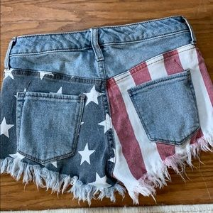Mossimo supply Co July 4th shorts stars stripes 2
